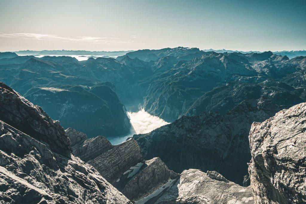 Blick ins Steinerne Meer