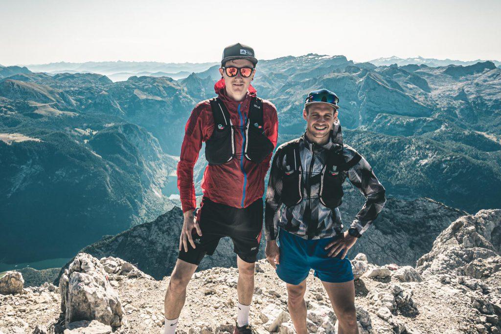 Lukas und Ich auf der Südspitze